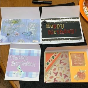 Hand made blank cards